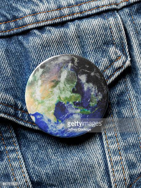 World button on jacket