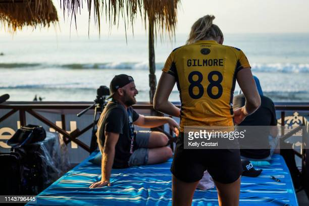 6X World Champion and current Jeep Leader Stephanie Gilmore is eliminated from the 2018 Corona Bali Protected with an equal 5th finish after placing...