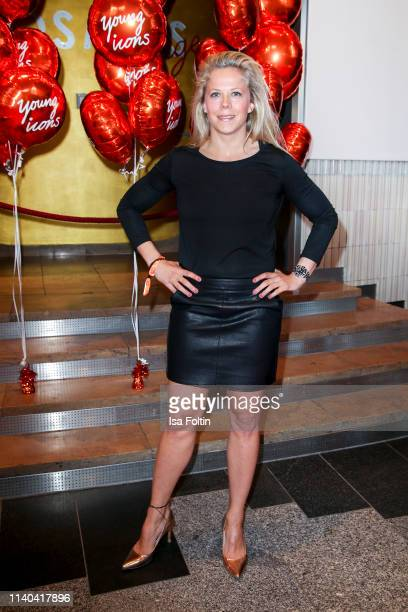 MMA world champion Julia Dorny attends the annual Young Icons Award at Kosmos on April 30 2019 in Berlin Germany