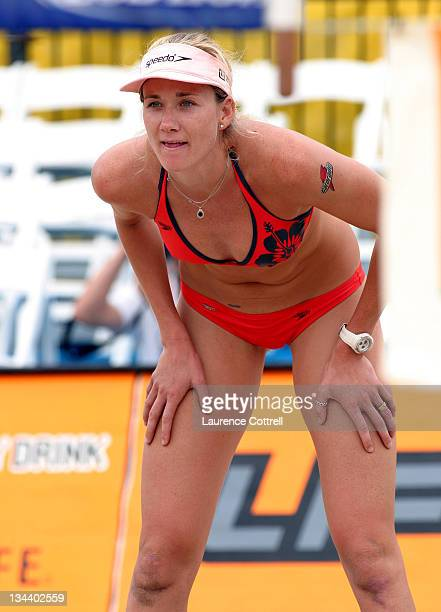 World Champion Kerri Walsh at the Hermosa Beach open