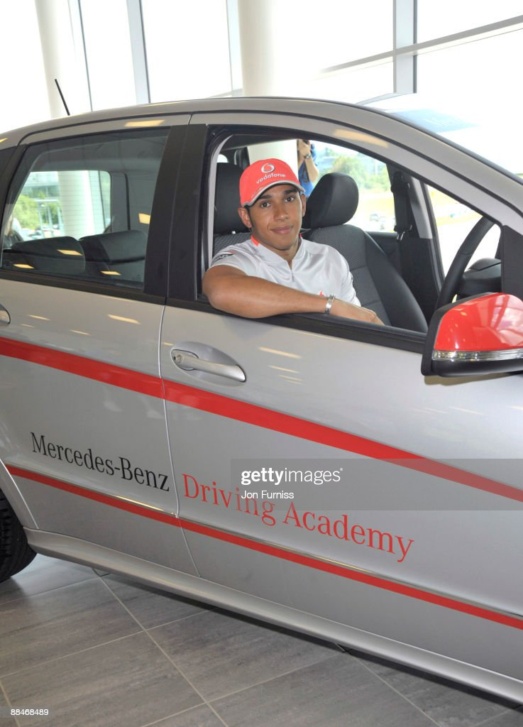 F1 World Champion Lewis Hamilton Launches The First Mercedes Benz Driving  Academy At Mercedes