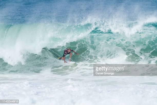 World Champion Mick Fanning of Australia competing in the 2015 Oi Rio Pro in Rio de Janeiro, Brazil.