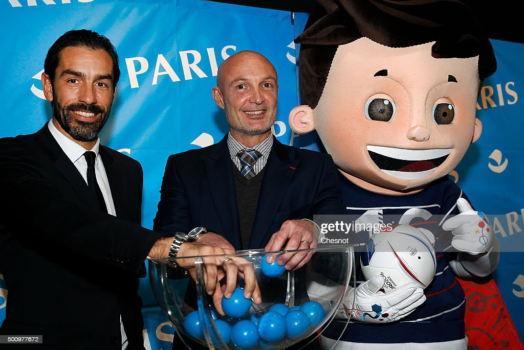 """Tournoi Generation 98"" Draw At Hotel De Ville In Paris"