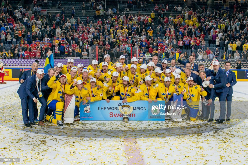 HOCKEY: MAY 21 IIHF World Championship Gold Medal Game - Canada v Sweden : ニュース写真