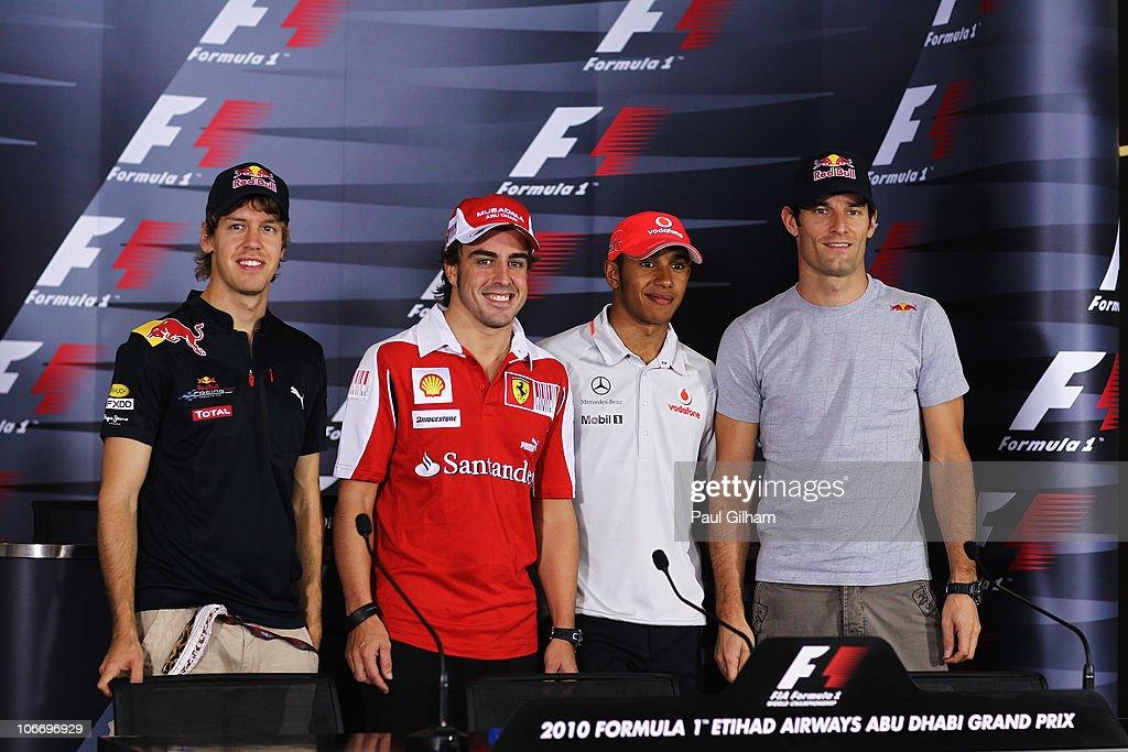 F1 Grand Prix of Abu Dhabi - Previews : Photo d'actualité