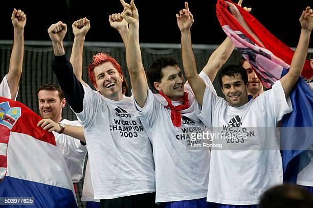 World Championships final Croatia Germany Croatia World Champions 2003