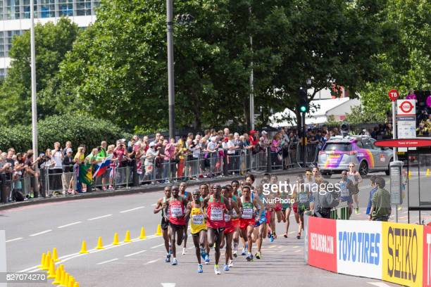 World Championships Men Marathon in London UK on August 6 2017 42 kilometre run took place in most picturesque streets of London and attracted...