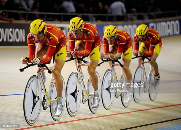 World Championships Track Ballerup Team Pursuit ESPSpain / Spanien 130 ELORRIAGAZUBIAURUnai 131 ESCOBARROURESergi 135 MUNTANERJUANEDADavid...