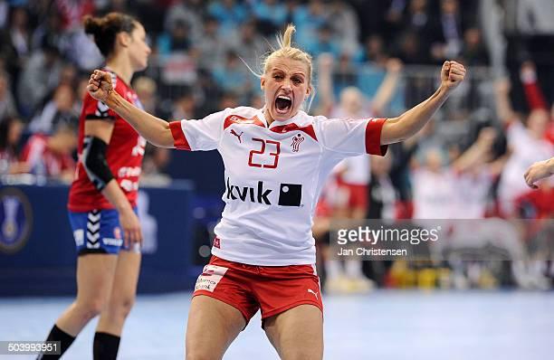 World Championships Womens Handball Serbia vs. Denmark - Ann Grete Nørgaard, Danmark / Denmark. © Jan Christensen, Frontzonesport