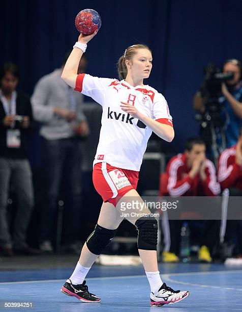 World Championships Womens Handball Serbia vs. Denmark - Anne Mette HANSEN, Danmark / Denmark. © Jan Christensen, Frontzonesport