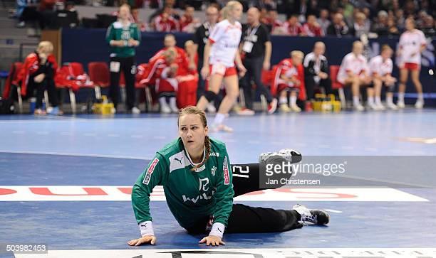 World Championships Womens Handball Serbia vs. Denmark - Keeper Cecilie GREVE, Danmark / Denmark. © Jan Christensen, Frontzonesport