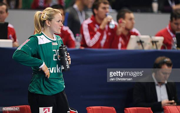 World Championships Womens Handball Serbia vs. Denmark - Keeper Rikke Vestergaard POULSEN, Danmark / Denmark. © Jan Christensen, Frontzonesport
