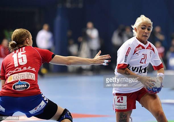 World Championships Womens Handball Serbia vs. Denmark - Kristina KRISTIANSEN, Danmark / Denmark. © Jan Christensen, Frontzonesport
