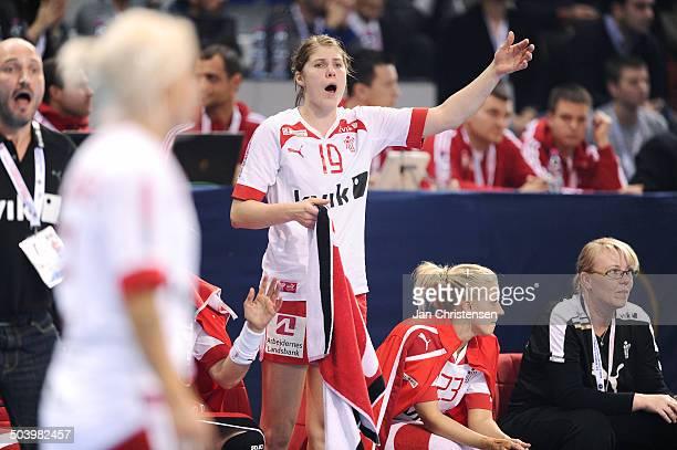 World Championships Womens Handball Serbia vs. Denmark - Line Anna Ryborg JØRGENSEN, Danmark / Denmark. © Jan Christensen, Frontzonesport