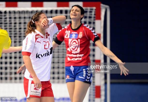 World Championships Womens Handball Serbia vs. Denmark - Louise Katharina BURGAARD, Danmark / Denmark. © Jan Christensen, Frontzonesport