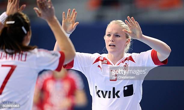 World Championships Womens Handball Serbia vs. Denmark - Maibritt KVIESGAARD, Danmark / Denmark. © Jan Christensen, Frontzonesport