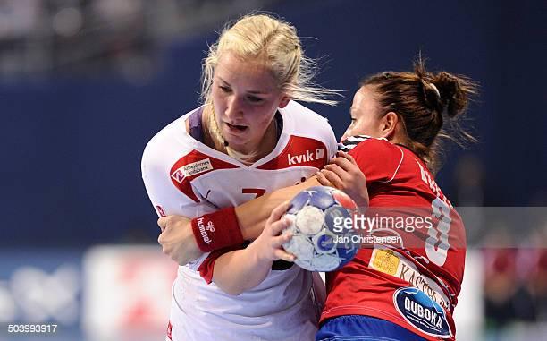 World Championships Womens Handball Serbia vs. Denmark - Maria FISKER, Danmark / Denmark. © Jan Christensen, Frontzonesport