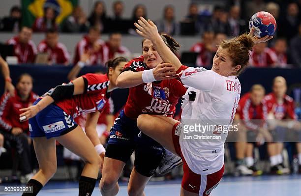 World Championships Womens Handball Serbia vs Denmark Mette GRAVHOLT Danmark / Denmark © Jan Christensen Frontzonesport