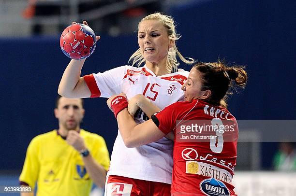 World Championships Womens Handball Serbia vs. Denmark - Pernille Holst HOLMSGAARD, Danmark / Denmark. © Jan Christensen, Frontzonesport