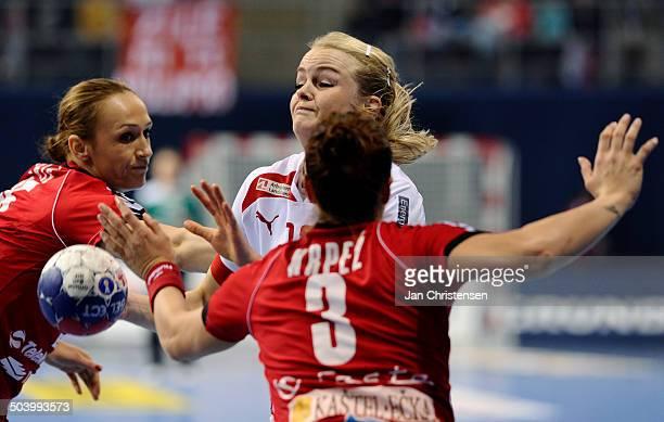 World Championships Womens Handball Serbia vs. Denmark - Stine JØRGENSEN, Danmark / Denmark. © Jan Christensen, Frontzonesport