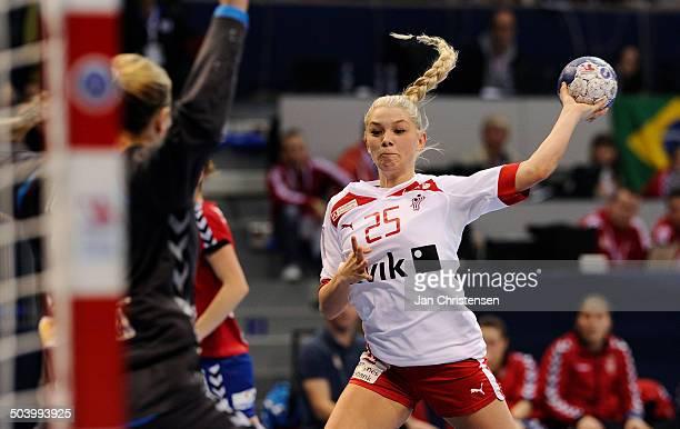 World Championships Womens Handball Serbia vs. Denmark - Trine Østergaard JENSEN, Danmark / Denmark. © Jan Christensen, Frontzonesport
