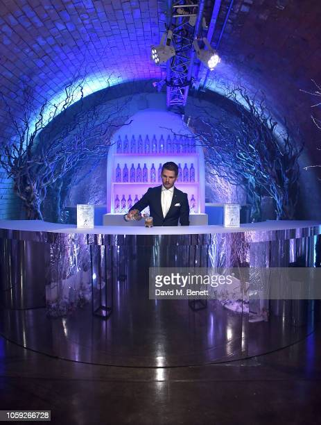 World class bartender Daniel Warren makes White Walker cocktails inspired by Game of Thrones to celebrate the launch of White Walker by Johnnie...