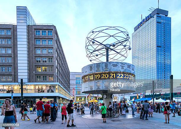 World Uhr-Alexanderplatz in Berlin