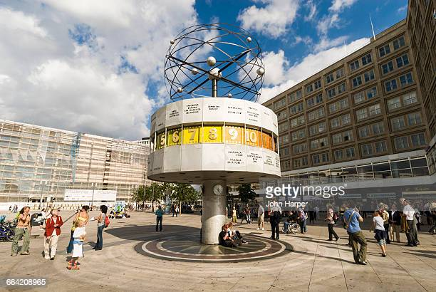 World Clock in Alexanderplatz, Berlin