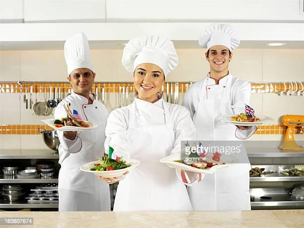 Internationale Küche