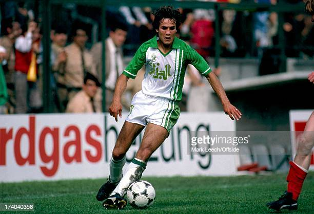World Cup 1982 Spain Algeria v Austria Rabeh Madjer