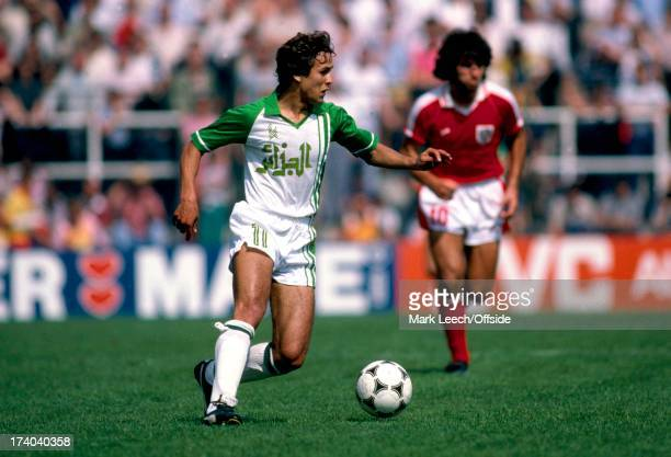 World Cup 1982 Spain Algeria v Austria Rabeh Madjer