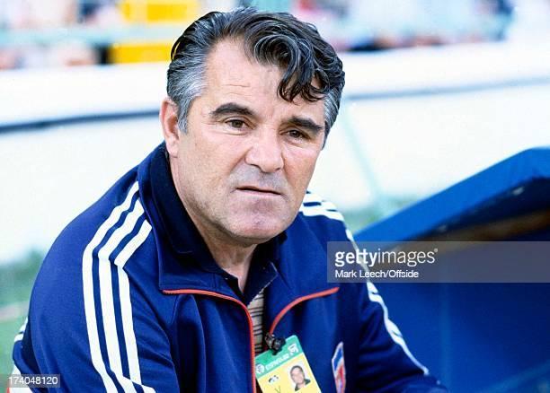 World Cup 1982 Spain Northern Ireland v Yugoslavia Yugoslav manager Miljan Miljanic