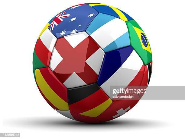 wm ball - internationale fußballveranstaltung stock-fotos und bilder