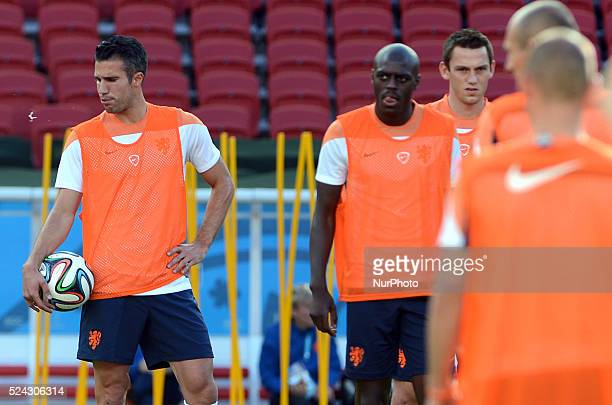 World Cup Brazil Van Persie During the training before the match against valid for the second round of Group B of the World Cup 2014 in Brazil...