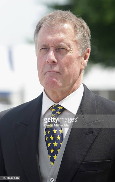 World Cup captain Sir Geoff Hurst attends the Investec Derby Day at Epsom Downs on June 5, 2010 in Epsom, England.