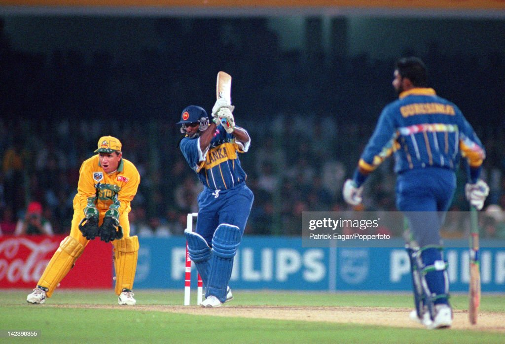 Cricket World Cup 1996 : News Photo