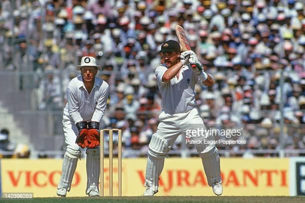 World Cup Final Calcutta 1987 Australia v England David Boon and Paul Downton I875020