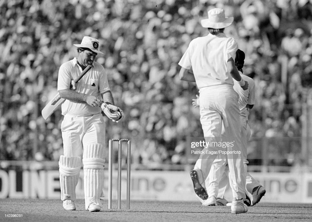 Cricket World Cup 1987 : News Photo
