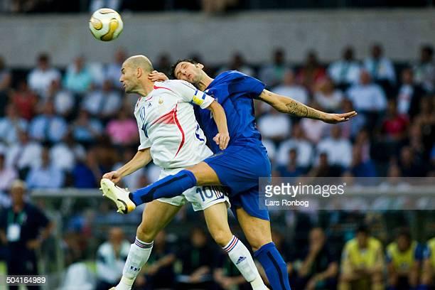 World Cup FINAL Italy vs France Zinedine Zidane France Marco Materazzi Italy