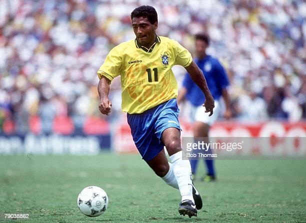 World Cup Final Pasadena USA 17th July Brazil 0 v Italy 0 Brazil's Romario