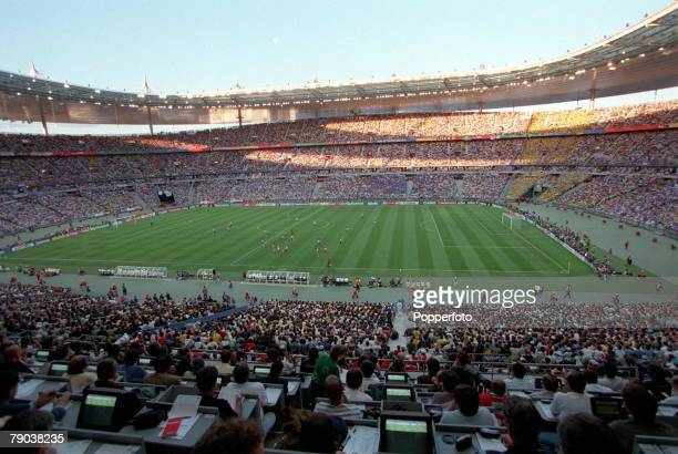World Cup Final St Denis Paris France 12th July France 3 v Brazil 0 General view of the Stade de France during the match