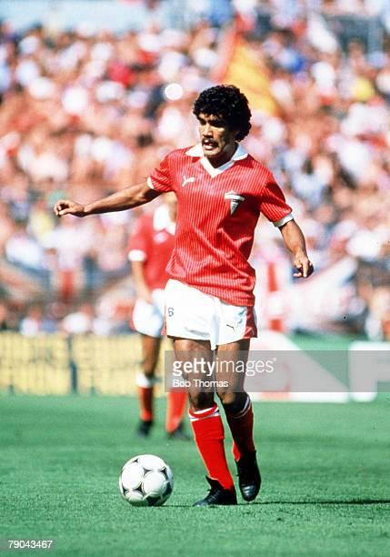 World Cup Finals Bilbao Spain 25th June England 1 v Kuwait 0 Kuwait's Al Dakhil