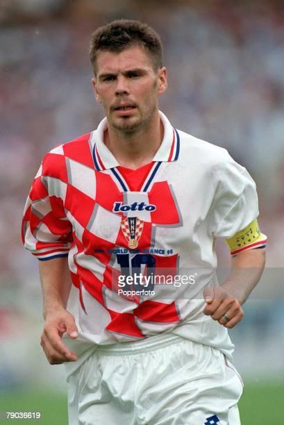 World Cup Finals, Bordeaux, France, 26th June Argentina 1 v Croatia 0, Croatia's Zvonimir Boban