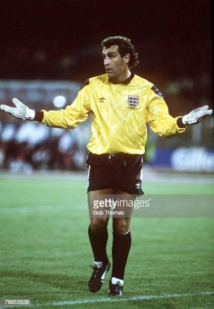 World Cup Finals Cagliari Italy 11th June England 1 v Republic Of Ireland 1 England goalkeeper Peter Shilton