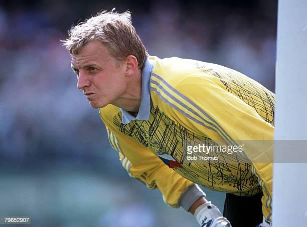 World Cup Finals Florence Italy 15th June Czechoslovakia 1 v Austria 0 Czechoslovakia's goalkeeper Jan Stejskal