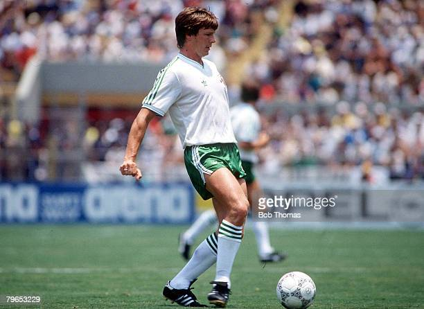 World Cup Finals Irapuato Mexico 2nd June USSR 6 v Hungary 0 Northern Ireland's John O' Neill