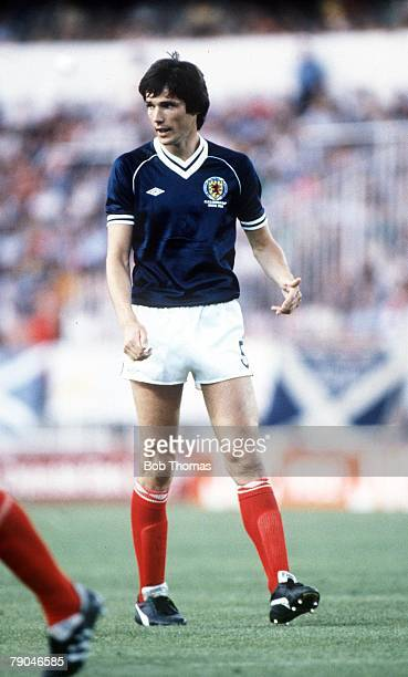 World Cup Finals Malaga Spain 22nd June USSR 2 v Scotland 2 Scotland's Alan Hansen