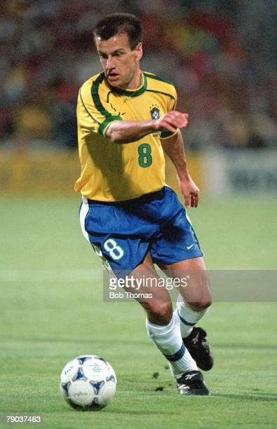 World Cup Finals, Marseille, France, Semi-Final, 7th July Brazil 1 v Holland 1, , Brazilian captain Dunga