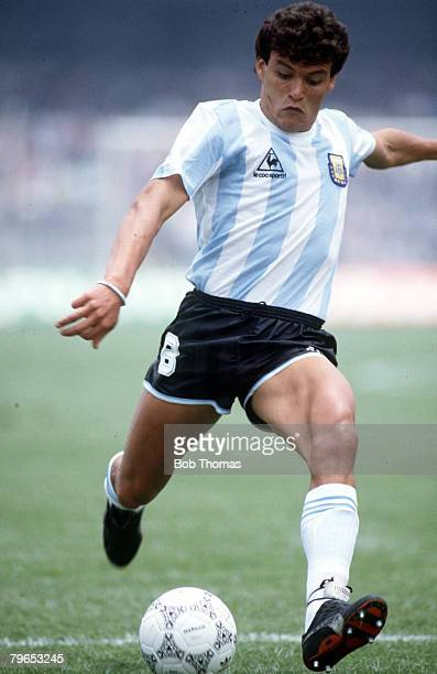 World Cup Finals Mexico City Mexico 2nd June Argentina 3 v South Korea 1 Argentina's Nestor Clausen