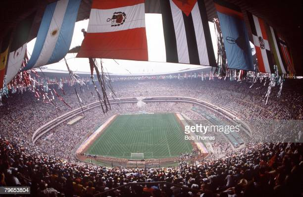 World Cup Finals Mexico City Mexico The Azteca Stadium venue for the 1986 World Cup Final